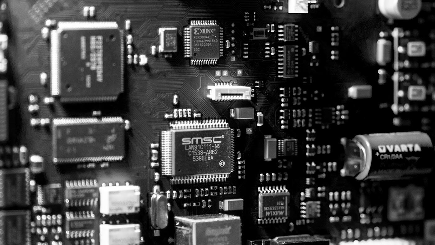 Leiterplatte, Mainboard,Chip, Mikroelektronik